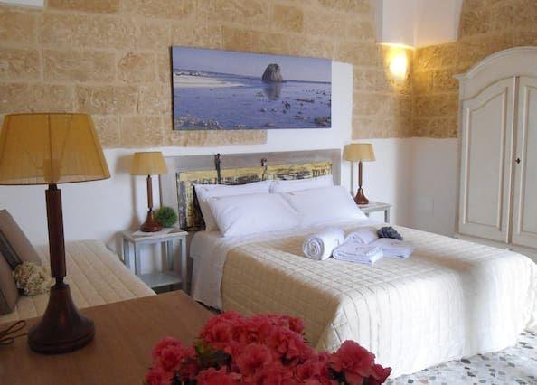 B & B, cerca de la playa 'las Maldivas de Salento', Pescoluse, Torre Vado, Gallipoli