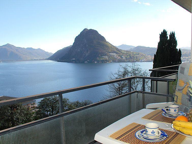 Alojamiento de 1 habitación en Lugano