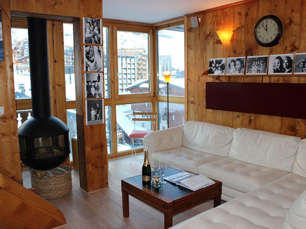 Práctico piso de 2 habitaciones