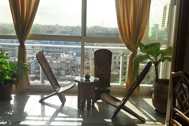 Alojamiento interesante en Casablanca