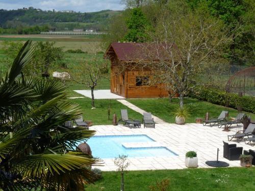 Panorámica residencia en Montauban