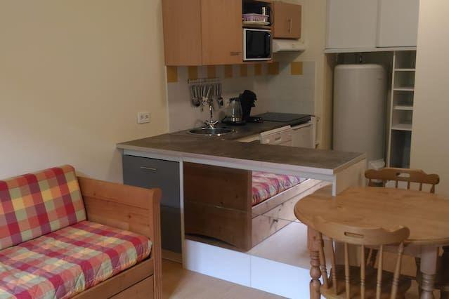 Hébergement à Aulus les bains de 1 chambre