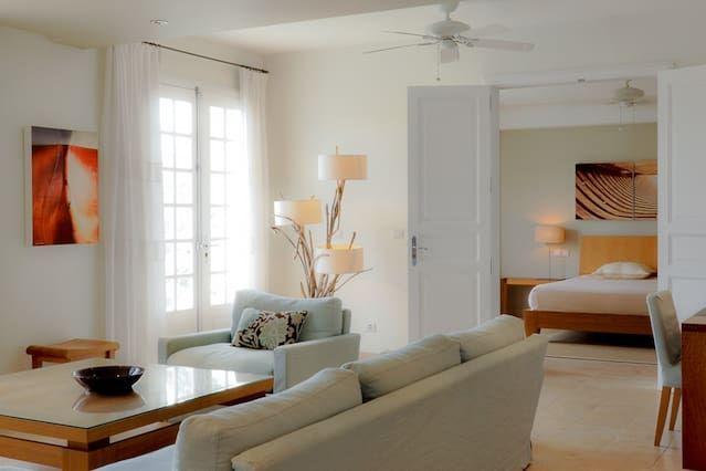 Logement à Gustavia avec 4 chambres