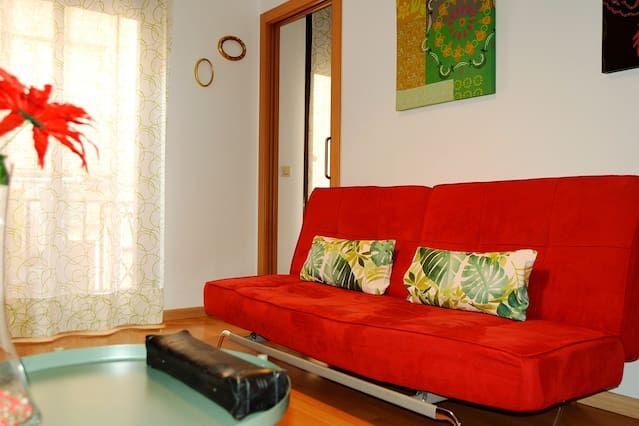 Apartamento con wi-fi de 45 m²
