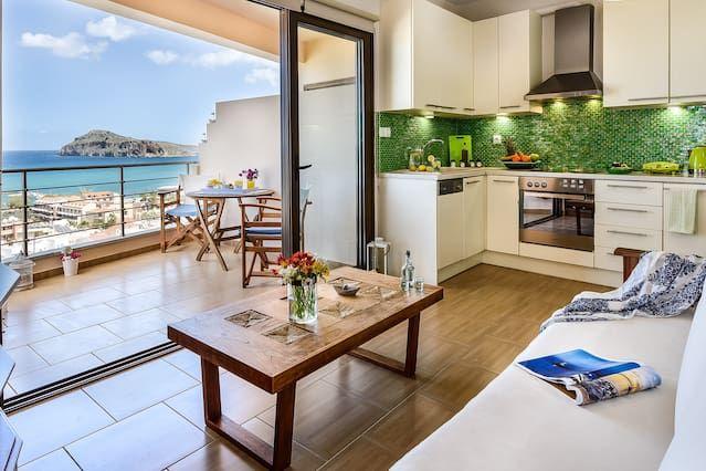 Popular apartamento en Plataniás