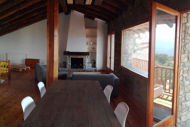 Residencia idónea para animales con balcón