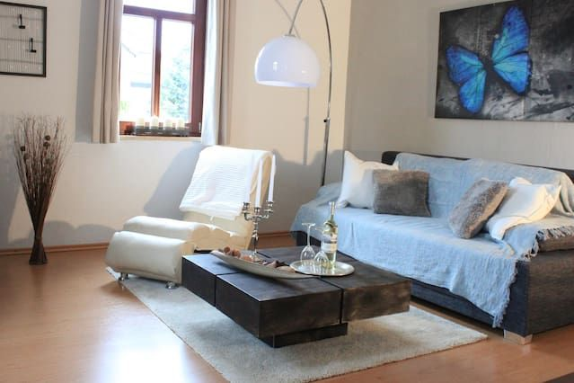 Stylish apartment at the White Deer with large roof terrace, Wi-Fi