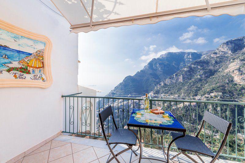 Residencia panorámica en Positano