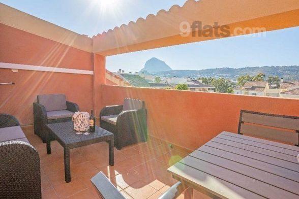 Apartment in Xàbia mit Internet, Balkon, Waschmaschine (554804)