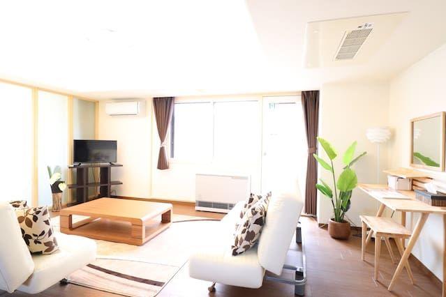 110 m² holiday rental in 札幌市