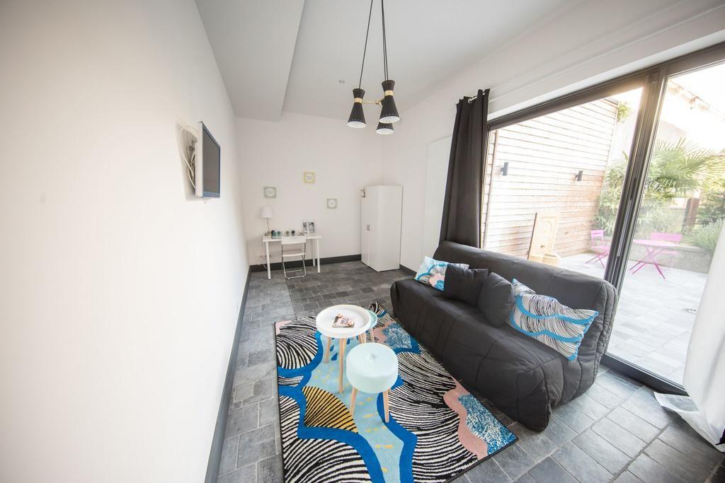 Appartement de 3 chambres avec jardin
