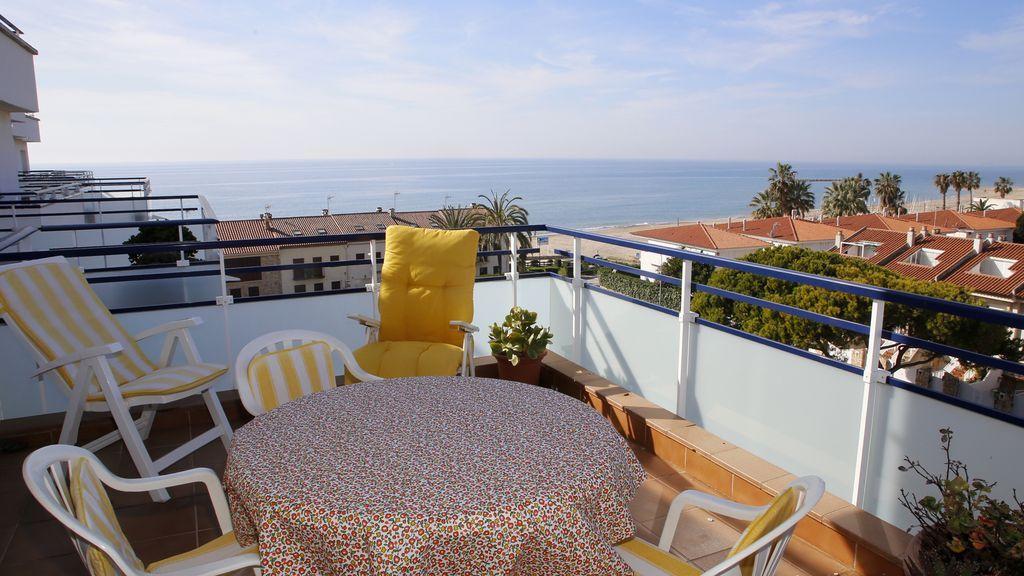 Apartamento hogareño con Cocina y Balcón en Altafulla