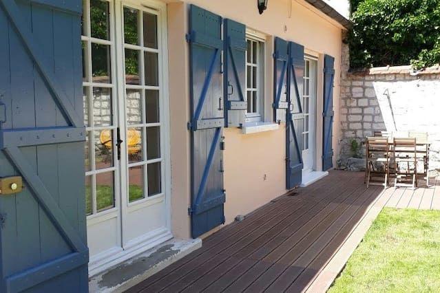 Alojamiento con vistas en Maisons-laffitte