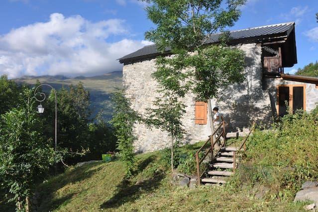 Renovated mountain house Valmeinier