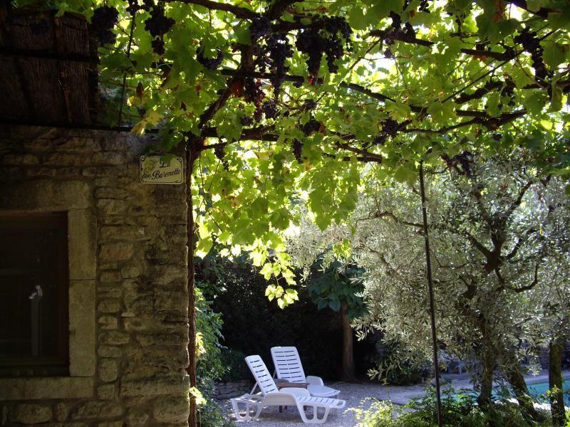Residencia en Cabrieres-d'avignon con jardín