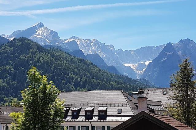 Panorama Wohnung in Garmisch-partenkirchen