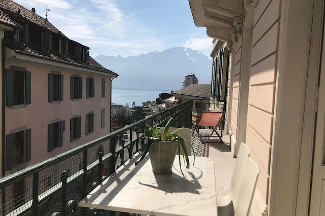 Idóneo para animales alojamiento en Montreux