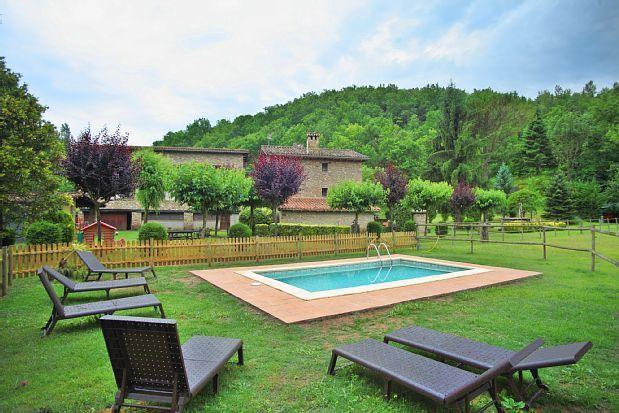 Apartamento para 17 personas en Vall de bianya (la)