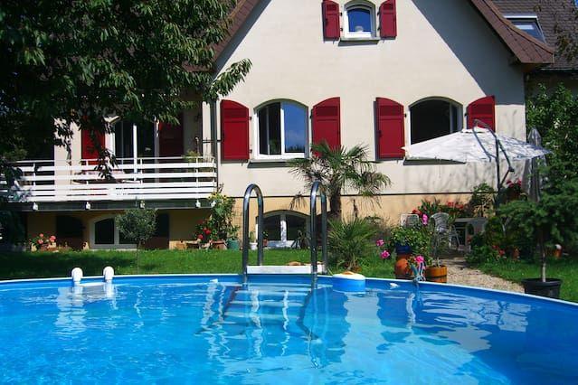 Bonito apartamento de 2,5 ambientes cerca de Basilea (CH)