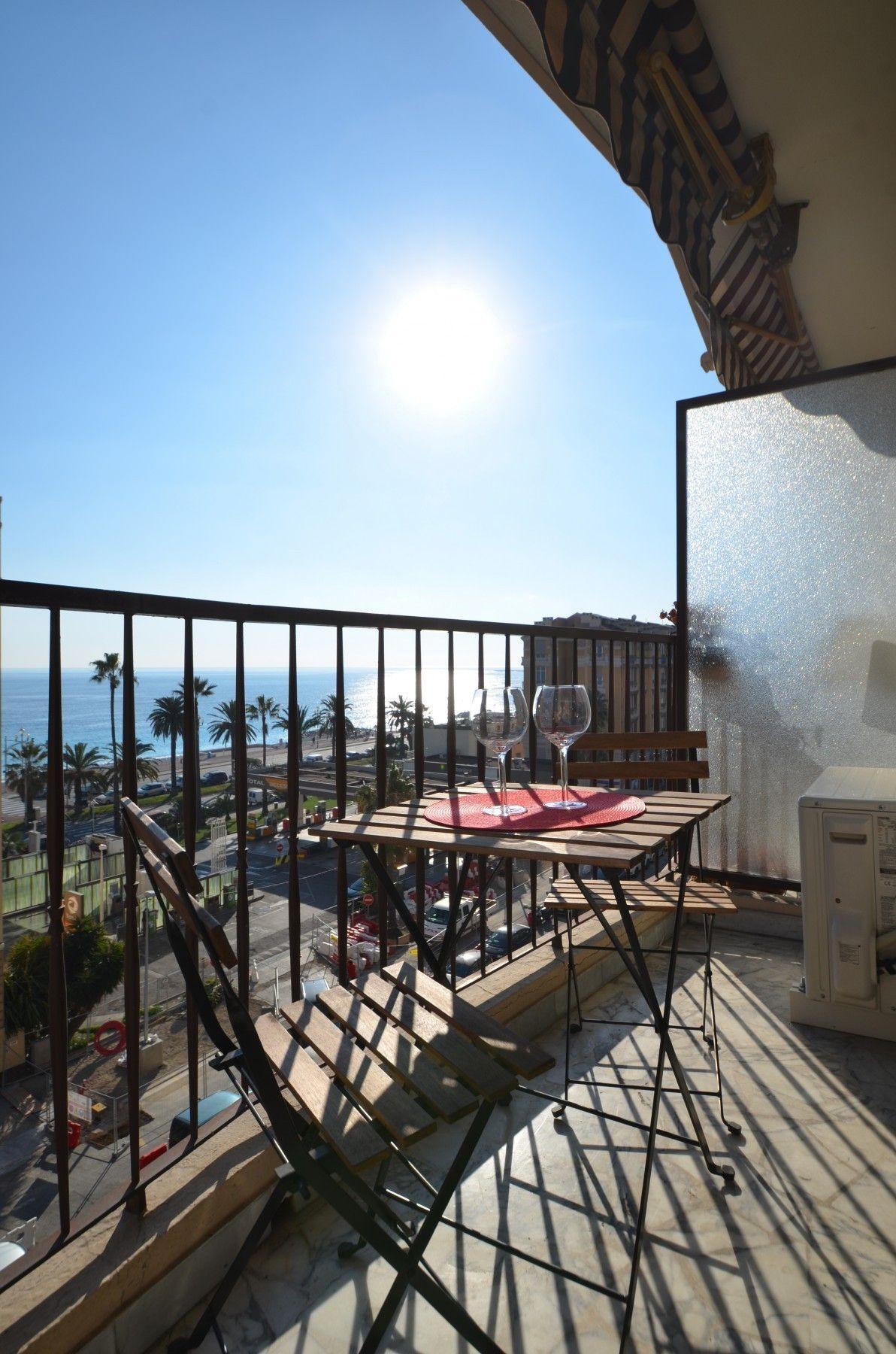 Apartamento en Nice con balcón