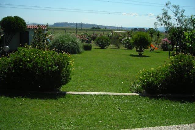 Casa con jardín para 7 huéspedes