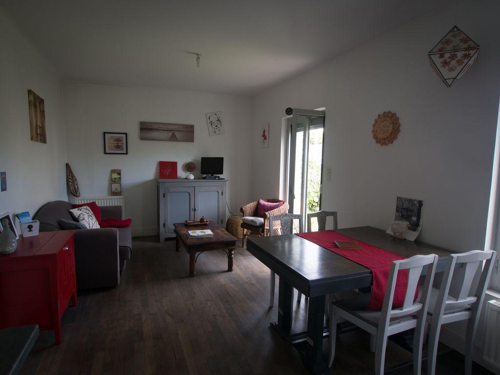 Equipada casa de 2 habitaciones