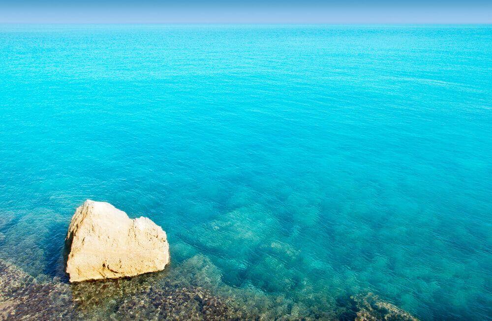 Crique Es Molí Marroig à Formentera
