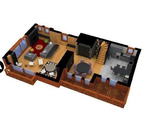 Residencia familiar de 5 habitaciones
