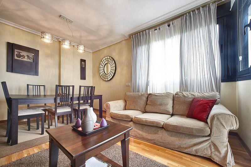 Dotado apartamento de 2 habitaciones
