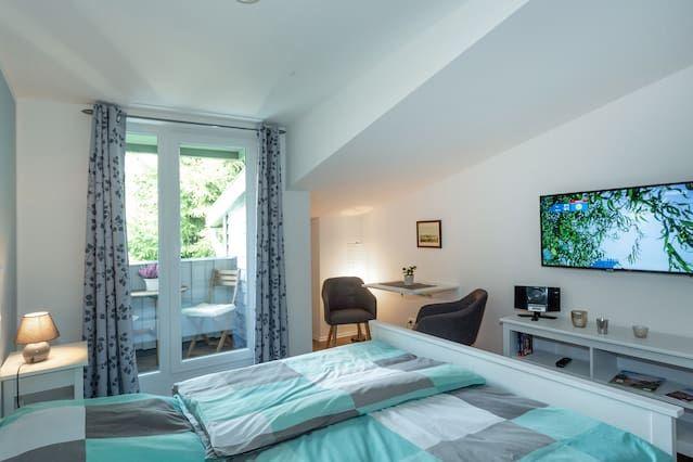 Praktisches Apartment mit 1 Zimmer