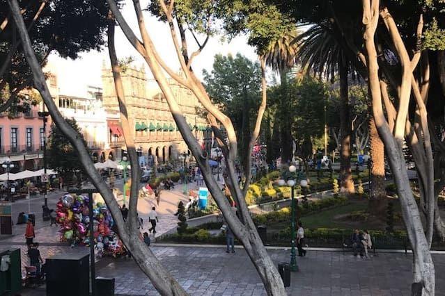 Apartamento en Puebla con parking incluído