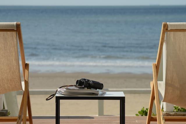 Trouville, appartement de charme sur la plage dans villa 19ème