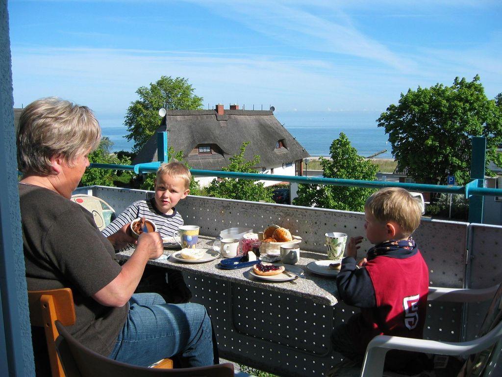 Unterkunft mit Balkon für 4 Gäste
