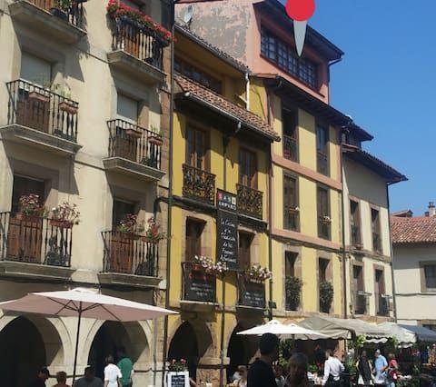 Piso turístico perfecto con Espacio exterior y TV en Oviedo