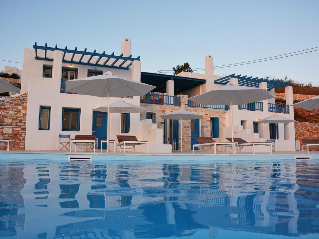 Residencia panorámica en Paros