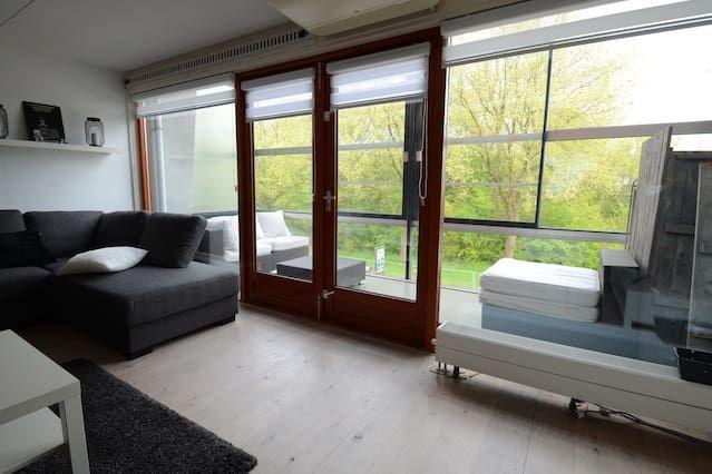 Ferienunterkunft mit 1 Zimmer in Groningen