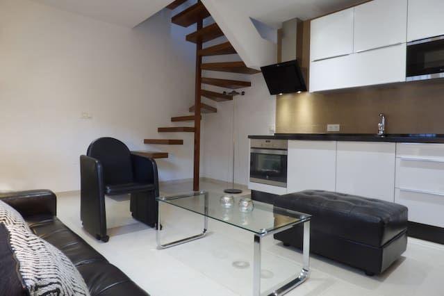 Atractivo alojamiento de 2 habitaciones