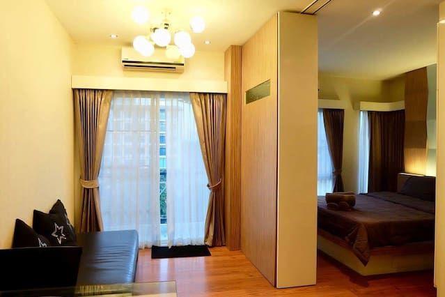 Alojamiento de 1 habitación con piscina