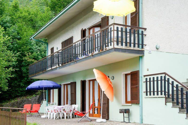 Unterkunft auf 88 m² mit Balkon