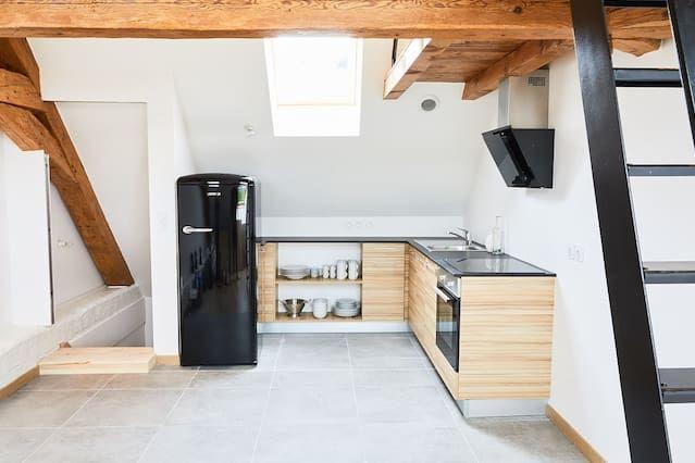 Vivienda equipada de 80 m²