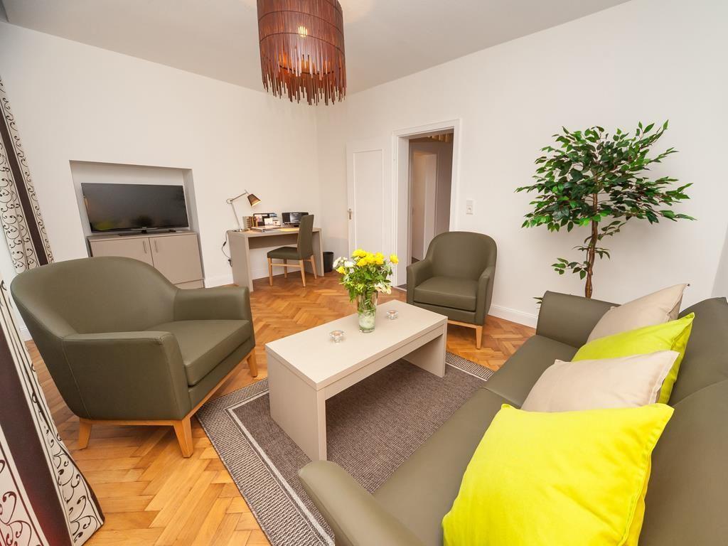 Ferienwohnungen Villa Mosella Apartamento, ducha, WC, vistas al río