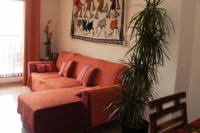 gemütliche und helle Wohnung