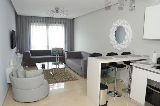 Atractivo piso de 1 habitación