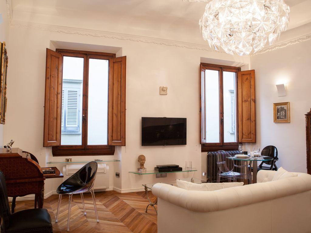 Apartamento fantástico en Florencia con AC y Calefacción