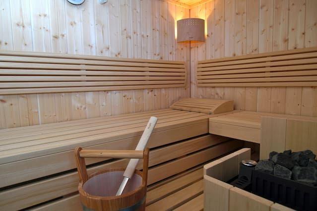Schönes Apartment mit Sauna