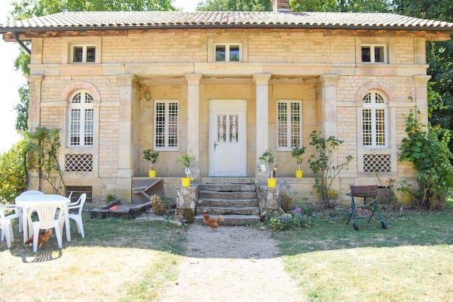 Con vistas alojamiento en Bretenière