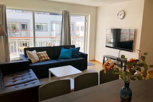 Sonderland Apt.  MHG 55 - Dos Habitaciones Piso, Capacidad 9