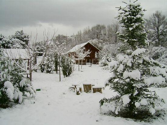 Casa equipada con jardín