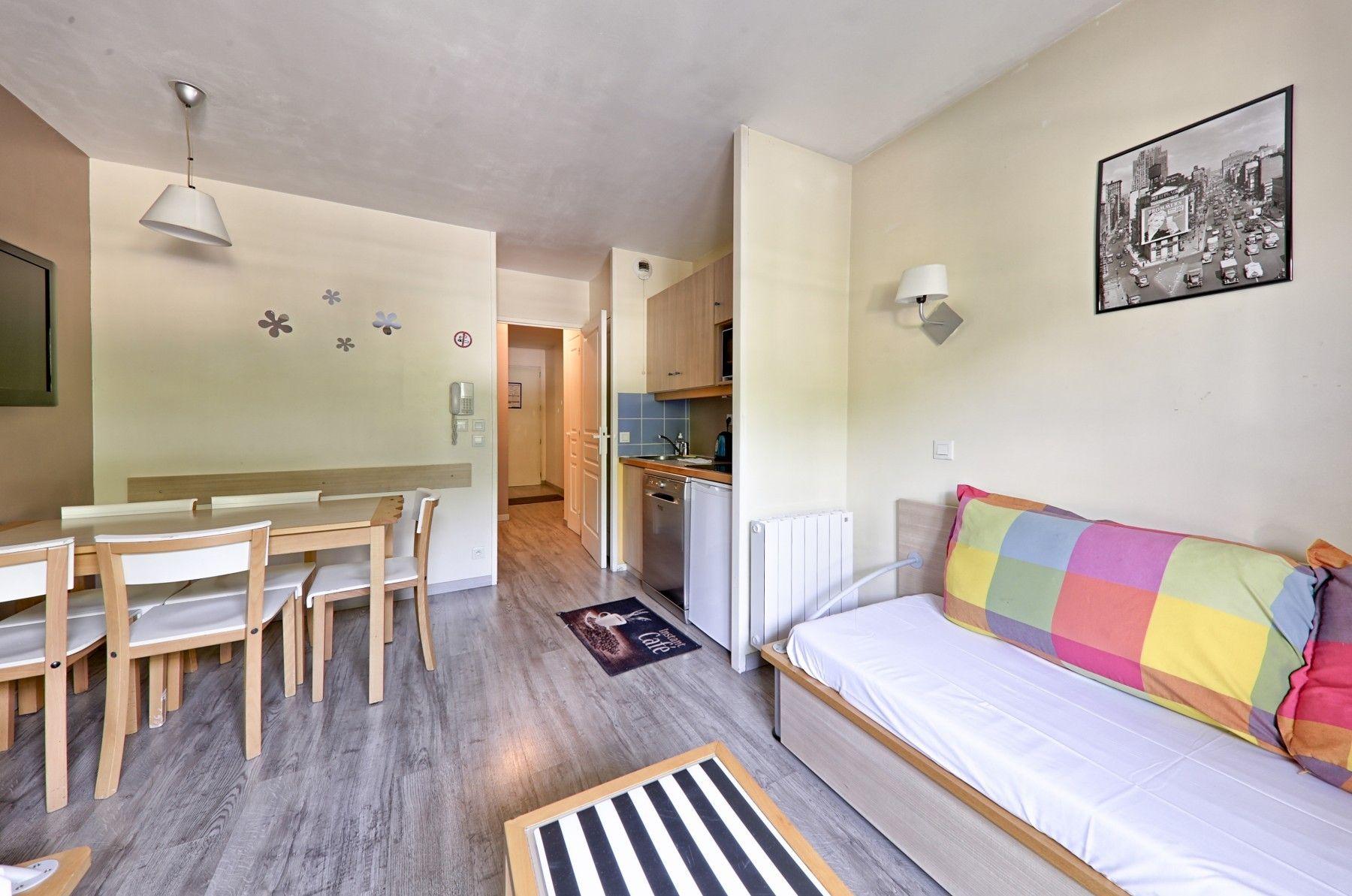 Provisto apartamento de 31 m²