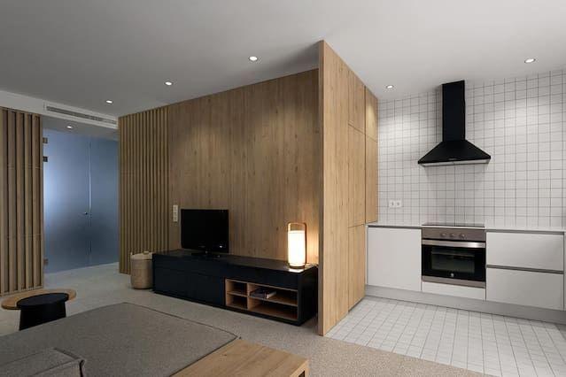 Ausgestattetes Apartment für 4 Personen